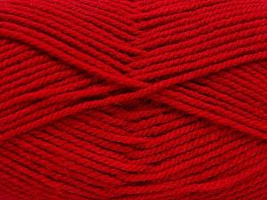 Worsted  Fiber Content 100% Acrylic, Brand Ice Yarns, Dark Red, Yarn Thickness 4 Medium  Worsted, Afghan, Aran, fnt2-54079