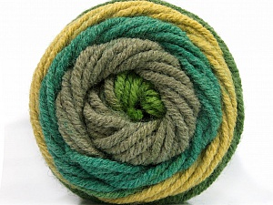 Fiber Content 70% Acrylic, 30% Wool, Khaki, Brand ICE, Green Shades, Yarn Thickness 5 Bulky  Chunky, Craft, Rug, fnt2-54118