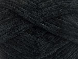 Fiber Content 100% Micro Fiber, Brand Ice Yarns, Black, Yarn Thickness 4 Medium  Worsted, Afghan, Aran, fnt2-54137