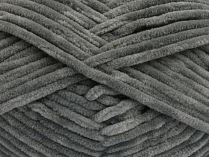 Fiber Content 100% Micro Fiber, Brand Ice Yarns, Grey, Yarn Thickness 4 Medium  Worsted, Afghan, Aran, fnt2-54140