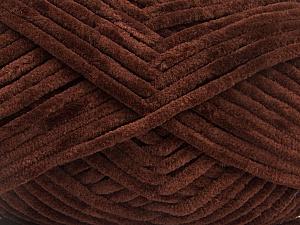 Fiber Content 100% Micro Fiber, Brand Ice Yarns, Dark Brown, Yarn Thickness 4 Medium  Worsted, Afghan, Aran, fnt2-54143
