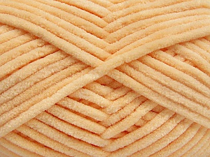 Fiber Content 100% Micro Fiber, Light Orange, Brand ICE, Yarn Thickness 4 Medium  Worsted, Afghan, Aran, fnt2-54146