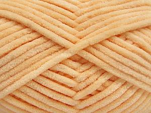 Fiber Content 100% Micro Fiber, Light Orange, Brand Ice Yarns, Yarn Thickness 4 Medium  Worsted, Afghan, Aran, fnt2-54146