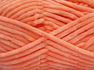 Fiber Content 100% Micro Fiber, Salmon, Brand Ice Yarns, Yarn Thickness 4 Medium  Worsted, Afghan, Aran, fnt2-54147