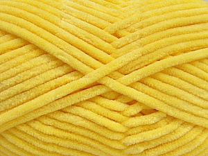 Fiber Content 100% Micro Fiber, Light Yellow, Brand ICE, Yarn Thickness 4 Medium  Worsted, Afghan, Aran, fnt2-54150