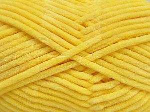 Fiber Content 100% Micro Fiber, Light Yellow, Brand Ice Yarns, Yarn Thickness 4 Medium  Worsted, Afghan, Aran, fnt2-54150