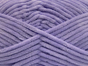 Fiber Content 100% Micro Fiber, Light Lilac, Brand ICE, Yarn Thickness 4 Medium  Worsted, Afghan, Aran, fnt2-54161