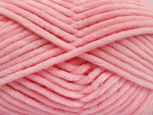 Fiber Content 100% Micro Fiber, Light Pink, Brand Ice Yarns, Yarn Thickness 4 Medium  Worsted, Afghan, Aran, fnt2-54163