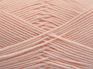 Fiber Content 50% Bamboo, 50% Acrylic, Light Salmon, Brand ICE, Yarn Thickness 2 Fine  Sport, Baby, fnt2-54234