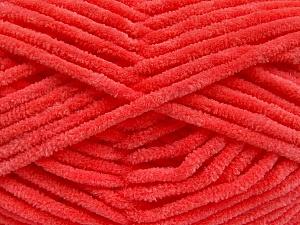 Fiber Content 100% Micro Fiber, Salmon, Brand Ice Yarns, Yarn Thickness 4 Medium  Worsted, Afghan, Aran, fnt2-54255