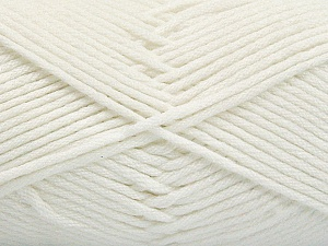 Fiber Content 50% SuperFine Nylon, 50% SuperFine Acrylic, White, Brand ICE, Yarn Thickness 4 Medium  Worsted, Afghan, Aran, fnt2-54328