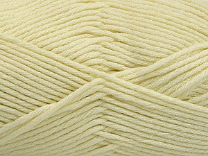 Fiber Content 50% SuperFine Acrylic, 50% SuperFine Nylon, Brand ICE, Cream, Yarn Thickness 4 Medium  Worsted, Afghan, Aran, fnt2-54330