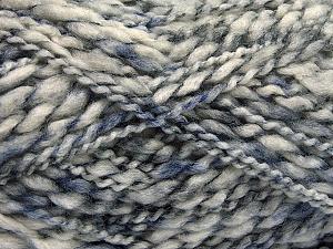 Fiber Content 60% Superwash Wool, 40% Acrylic, Brand ICE, Grey Shades, Yarn Thickness 5 Bulky  Chunky, Craft, Rug, fnt2-54563