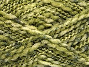 Fiber Content 60% Superwash Wool, 40% Acrylic, Brand ICE, Green Shades, Yarn Thickness 5 Bulky  Chunky, Craft, Rug, fnt2-54567