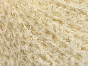 Fiber Content 47% Wool, 21% Cotton, 20% Polyamide, 12% Viscose, Brand ICE, Ecru, Yarn Thickness 3 Light  DK, Light, Worsted, fnt2-54814