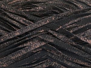 Fiber Content 82% Viscose, 18% Polyester, Brand ICE, Camel, Black, Yarn Thickness 5 Bulky  Chunky, Craft, Rug, fnt2-55002