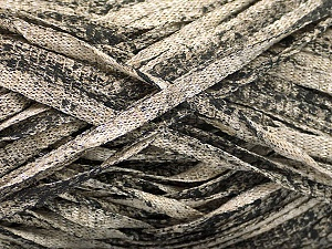 Fiber Content 82% Viscose, 18% Polyester, Brand ICE, Black, Beige, Yarn Thickness 5 Bulky  Chunky, Craft, Rug, fnt2-55032