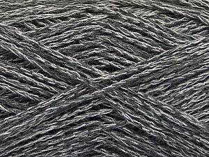 Fiber Content 35% Cotton, 35% Acrylic, 30% Viscose, Brand ICE, Grey Shades, Yarn Thickness 2 Fine  Sport, Baby, fnt2-55182