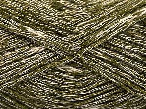 Fiber Content 35% Cotton, 35% Acrylic, 30% Viscose, White, Brand ICE, Green, Yarn Thickness 2 Fine  Sport, Baby, fnt2-55208
