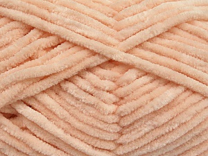 Fiber Content 100% Micro Fiber, Light Salmon, Brand ICE, Yarn Thickness 4 Medium  Worsted, Afghan, Aran, fnt2-55216