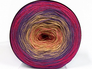 Fiber Content 50% Acrylic, 50% Cotton, Pink Shades, Lilac Shades, Brand Ice Yarns, Yarn Thickness 2 Fine  Sport, Baby, fnt2-55249