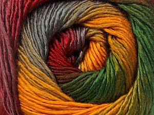Fiber Content 50% Acrylic, 50% Wool, Yellow, Red, Brand ICE, Grey, Green, Yarn Thickness 2 Fine  Sport, Baby, fnt2-55463