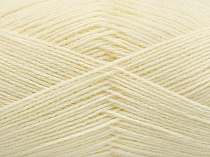 Fiber Content 75% Superwash Wool, 25% Polyamide, Brand ICE, Cream, Yarn Thickness 1 SuperFine  Sock, Fingering, Baby, fnt2-55465