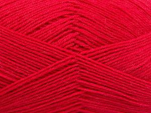 Fiber Content 75% Superwash Wool, 25% Polyamide, Brand ICE, Fuchsia, Yarn Thickness 1 SuperFine  Sock, Fingering, Baby, fnt2-55472