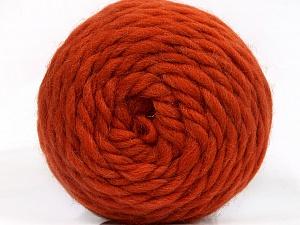 Fiber Content 100% Wool, Orange, Brand ICE, Yarn Thickness 6 SuperBulky  Bulky, Roving, fnt2-55488