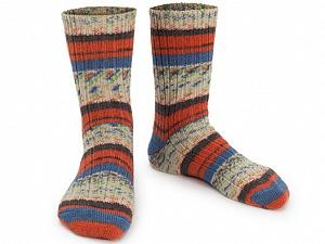 Fiber Content 75% Superwash Wool, 25% Polyamide, Orange, Brand ICE, Cream, Blue, Anthracite, Yarn Thickness 1 SuperFine  Sock, Fingering, Baby, fnt2-55543