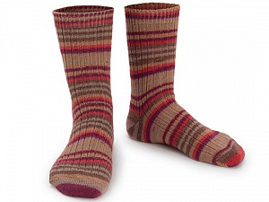 Fiber Content 75% Superwash Wool, 25% Polyamide, Red, Purple, Brand ICE, Brown Shades, Yarn Thickness 1 SuperFine  Sock, Fingering, Baby, fnt2-55550