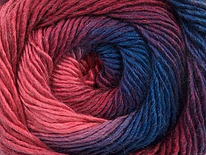 Fiber Content 50% Acrylic, 50% Wool, Purple, Pink Shades, Brand ICE, Blue, Yarn Thickness 2 Fine  Sport, Baby, fnt2-55561