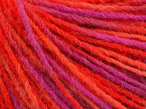 Fiber Content 100% Acrylic, Pink, Orange, Brand ICE, Fuchsia, Yarn Thickness 3 Light  DK, Light, Worsted, fnt2-55610