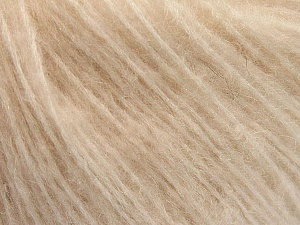 Fiber Content 34% Acrylic, 26% Polyamide, 25% Alpaca, 15% Superwash Merino Wool, Light Powder Pink, Brand ICE, Yarn Thickness 3 Light  DK, Light, Worsted, fnt2-55794