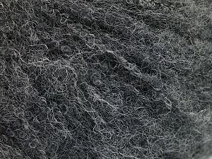 Fiber Content 40% Wool, 40% Alpaca Superfine, 20% Polyamide, Brand ICE, Dark Grey, fnt2-55866