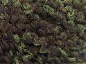 Fiber Content 55% Wool, 27% Acrylic, 18% Polyamide, Brand ICE, Green, Brown, Yarn Thickness 5 Bulky  Chunky, Craft, Rug, fnt2-55941