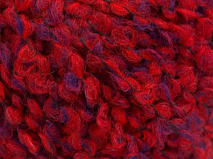 Fiber Content 55% Wool, 27% Acrylic, 18% Polyamide, Red, Purple, Brand ICE, Yarn Thickness 5 Bulky  Chunky, Craft, Rug, fnt2-55944