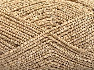 Fiber Content 44% Cotton, 44% Acrylic, 12% Polyamide, Brand ICE, Cafe Latte, Yarn Thickness 2 Fine  Sport, Baby, fnt2-56008