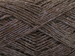 Fiber Content 44% Cotton, 44% Acrylic, 12% Polyamide, Brand ICE, Dark Brown, Yarn Thickness 2 Fine  Sport, Baby, fnt2-56009
