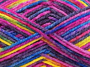 Fiber Content 50% Wool, 40% Polyamide, 10% Acrylic, Rainbow, Brand ICE, Yarn Thickness 3 Light  DK, Light, Worsted, fnt2-56126