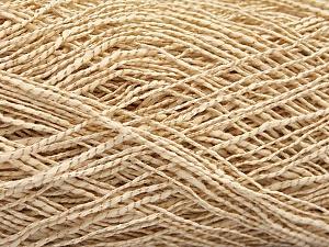 Fiber Content 62% Cotton, 23% Viscose, 15% Polyamide, Brand ICE, Cream, Yarn Thickness 2 Fine  Sport, Baby, fnt2-56156