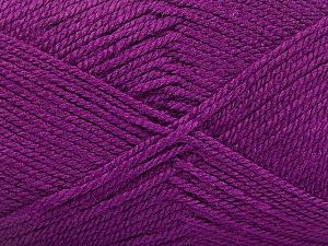 Fiber Content 100% Acrylic, Purple, Brand ICE, Yarn Thickness 2 Fine  Sport, Baby, fnt2-56174