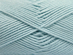 Fiber Content 50% SuperFine Nylon, 50% SuperFine Acrylic, Light Blue, Brand ICE, Yarn Thickness 4 Medium  Worsted, Afghan, Aran, fnt2-56288