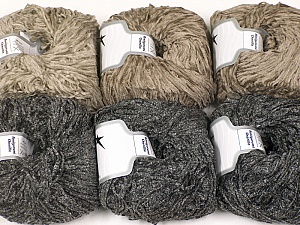 Fiber Content 100% Polyester, Mixed Lot, Brand ICE, Yarn Thickness 1 SuperFine  Sock, Fingering, Baby, fnt2-56458
