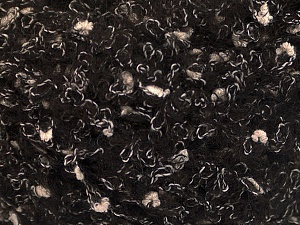 Fiber Content 26% Polyamide, 22% Acrylic, 18% Viscose, 17% Alpaca, 17% Wool, White, Brand ICE, Dark Brown, Black, fnt2-56537