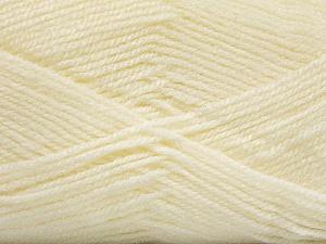 Fiber Content 100% Acrylic, Light Cream, Brand ICE, Yarn Thickness 3 Light  DK, Light, Worsted, fnt2-56561