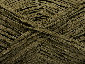 Fiber Content 100% Acrylic, Khaki, Brand ICE, Yarn Thickness 3 Light  DK, Light, Worsted, fnt2-56691