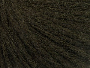 Fiber Content 50% Wool, 50% Acrylic, Brand ICE, Dark Green, Yarn Thickness 4 Medium  Worsted, Afghan, Aran, fnt2-56739