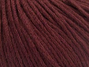 Fiber Content 50% Extrafine Merino Wool, 50% Polyamide, Brand ICE, Burgundy, fnt2-56821