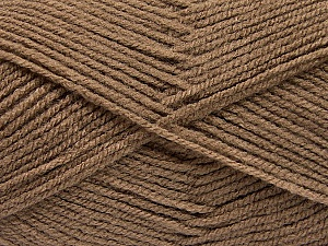 Fiber Content 100% Acrylic, Brand ICE, Camel, Yarn Thickness 3 Light  DK, Light, Worsted, fnt2-56911